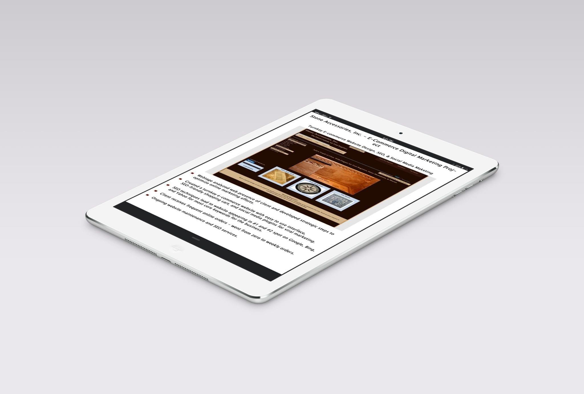 E-Commerce Search Marketing