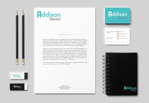 Branding Identity for Addison Dental