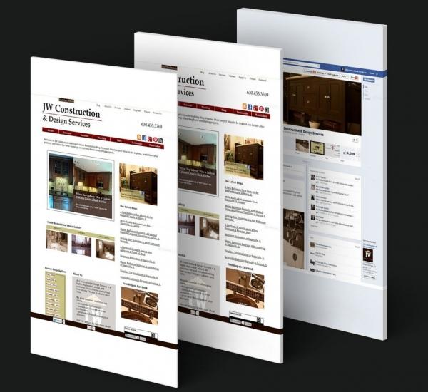 Digital Marketing Success Story – JW Construction & Design Services _Webtage