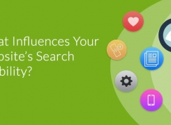 What Influences Your Website's Search Visibility? An Infographic
